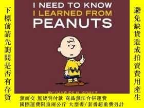 二手書博民逛書店Everything罕見I Need To Know I Learned From PeanutsY25626