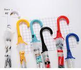 兒童雨傘 日系透明傘雨傘女韓國小清新學生韓版公主成人兒童可愛卡通長柄傘 萌萌小寵