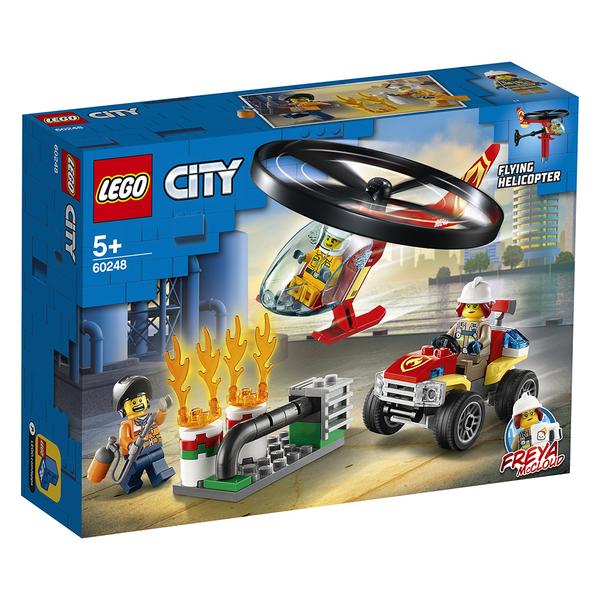 樂高積木 LEGO《 LT60248》City 城市系列 - Fire Helicopter Response╭★ JOYBUS玩具百貨