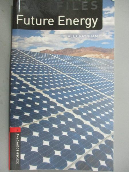 【書寶二手書T4/大學理工醫_NIO】Future Energy, Oxford Bookworms Library_A