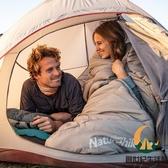 戶外睡袋 加厚防寒 可拼雙人 露營可用【創世紀生活館】