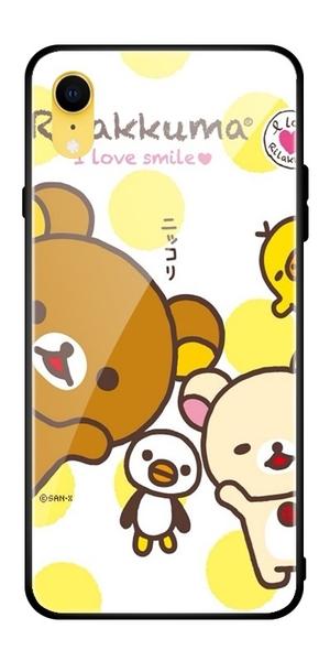 IPhone SE手機殼可愛拉拉熊 iPhone6/6s/7/8/XR保護殼 防摔蘋果11Pro Max手機套 蘋果X/Xs Xs Max保護套
