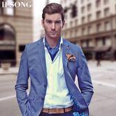 領巾 韓版男士真絲領巾英倫復古西裝絲巾襯衫領口巾商務圍巾 晶彩生活