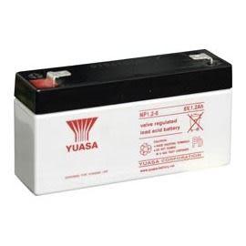 YUASA湯淺NP1.2-6閥調密閉式鉛酸電池★全館免運費★『電力中心-Yahoo!館』