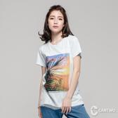 cantwo3D網紗圖T(共三色)~網路獨家優惠3折