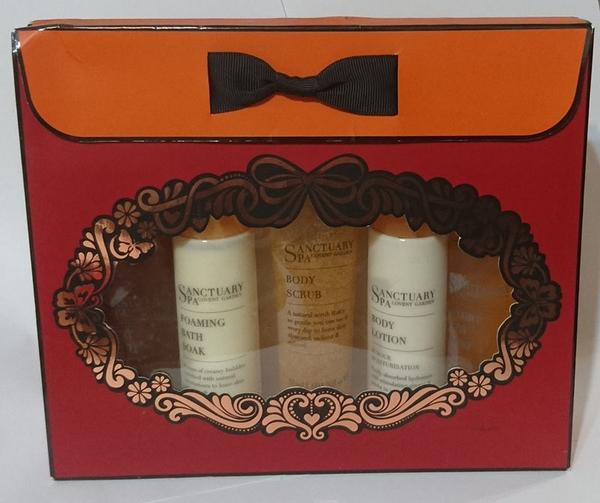 *禎的家* 英國 Sanctuary 聖活泉 身體保養5件組禮盒 出清特賣