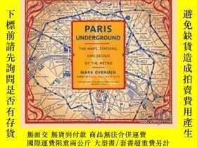 二手書博民逛書店Paris罕見Underground-巴黎地鐵Y436638 Mark Ovenden Penguin Boo