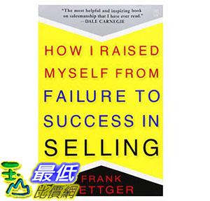 [美國直購] 暢銷書 How I Raised Myself from Failure to Success in Selling 067179437X