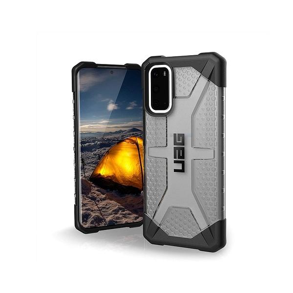 [2美國直購] URBAN ARMOR GEAR 手機保護殼 Plasma系列 適用Galaxy S20 灰/白