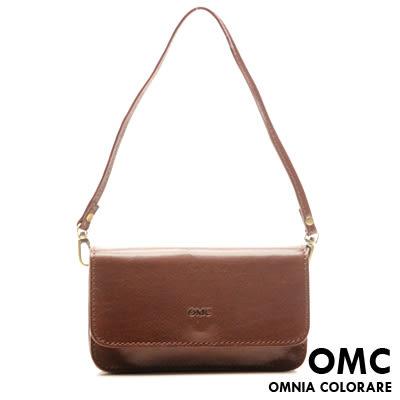 OMC - 真皮魅力款復古側背包