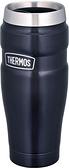 【現貨-午夜藍】THERMOS 【日本代購】膳魔師 470ml 保冷保溫 真空絕緣 ROD-001-二色