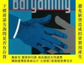 二手書博民逛書店The罕見Art Of BargainingY255562 Lebow, Richard Ned Johns