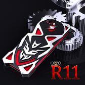 OPPO R11 R11Plus 手機殼 三防金屬邊框 鋁合金 全包防摔金屬保護殼 搖滾 手機套 保護套 @微笑購物