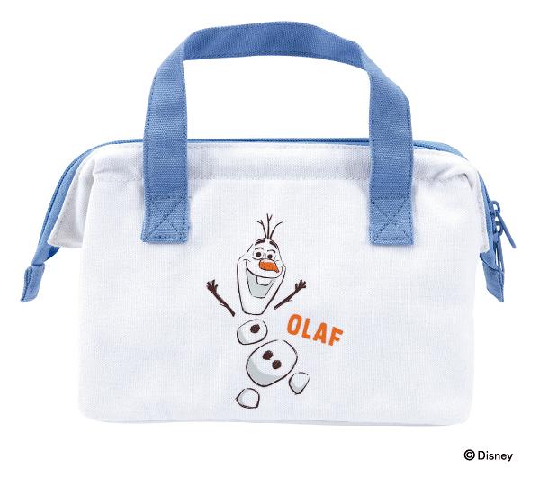 【雪寶 手提便當袋】冰雪奇緣2 雪寶 便當袋 手提袋 保溫 保冷 日本正版 該該貝比日本精品 ☆