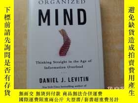 二手書博民逛書店The罕見Organized Mind: Thinking St