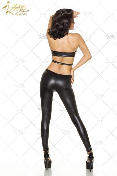 衣美姬♥漆皮連身褲 模特兒 攝影服裝 火辣表演舞衣 情趣服