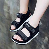 夏季新款男童涼鞋中大童男孩沙灘鞋寶寶鞋韓版潮兒童涼鞋【諾克男神】