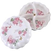 創意帶蓋南瓜糖果盒家用客廳茶几堅果干果盤子瓜子水果盤
