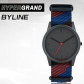 "Hypergrand新加坡設計師品牌01基本款系列 ""HOLIDAY""BYLINE都市鐵道腕錶NW01BYLN公司貨"