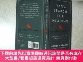二手書博民逛書店Man s罕見Search for Meaning 追尋生命的意義 32開 01Y261116 Viktor