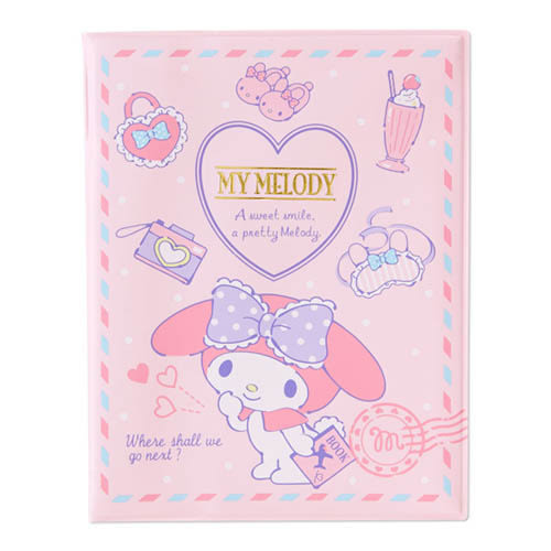Sanrio 美樂蒂PVC護照收納套(甜蜜旅行)★funbox生活用品★ 594296