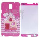 Hello Kitty 三麗鷗正版授權 Samsung Note 3 鑽殼與立體鑽保護貼配套 KMFT-D102N3/KMGC-103N3