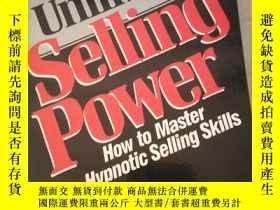 二手書博民逛書店Unlimited罕見Selling PowerY21714 D