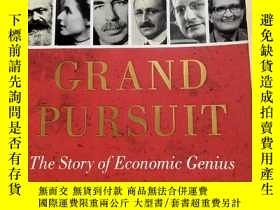二手書博民逛書店Grant罕見pursuit the story of economic genius 經濟學天才Y30983