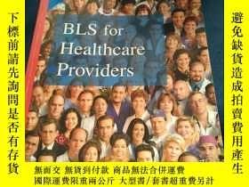 二手書博民逛書店BLS罕見for Healthcare Providers American Heart Association