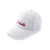 FILA 男女款 漸層 LOGO棒球帽 白色 HTV-5001-WT 【KAORACER】