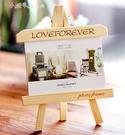 實木相框擺台創意7寸畢業公司生日禮物刻字洗照片 【全館免運】