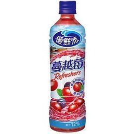 <免運/聯新貨運>優鮮沛蔓越莓綜合果汁500ml (24瓶/箱)【合迷雅好物超級商城】