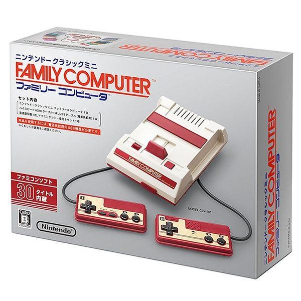 現貨中 任天堂原廠復刻版 FAMICOM 迷你版 任天堂迷你紅白機 支援HDMI【玩樂小熊】