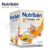貝康 紐滋本 Nutriben 貝8種榖類+果寡糖麥精600g