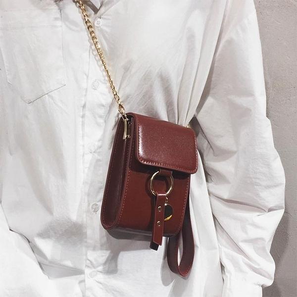 迷你包手機包迷你小包包女2020新款潮網紅錬條斜背包質感法國夏天側背包 源治良品
