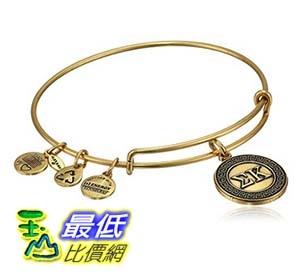 [美國直購] Alex and Ani Sorority Sigma Kappa Expandable Rafaelian Gold Finish Wire Bangle Bracelet 手鐲