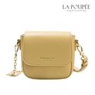 側背包 簡約菱格紋迷你小方包 4色-La Poupee樂芙比質感包飾 (現貨+預購)