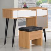 Homelike 莫尼卡化妝桌椅組
