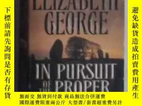 二手書博民逛書店英文原版罕見In Pursuit of the Proper S