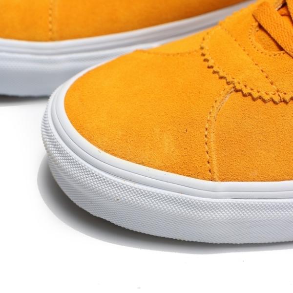 VANS 休閒鞋 SPORT V LOGO 板鞋 黃黑 男 (布魯克林) VN0A4BU6XW3
