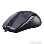 滑鼠 雙飛燕N-708X 針光有線USB商務辦公側鍵配重CF LOL電競游戲大滑鼠 城市科技