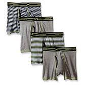 Hanes 學生X-Temp透氣網眼4件裝內褲(灰色系列)