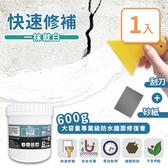【家適帝】600克大容量- 專業級防水牆面修復膏補牆膏*1
