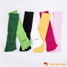 瑜伽襪女秋冬五指襪中長筒防滑專業瑜伽襪壓襪【小獅子】