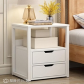 床頭櫃 簡易床頭櫃簡約現代經濟型臥室床頭收納櫃小型床邊小櫃子儲物櫃子  YJT【創時代3C館】