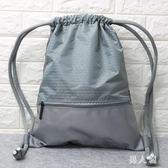 束口袋抽繩後背包男女通用戶外旅行防水輕便折疊運動健身 df103『男人範』