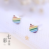 【新飾界】耳環:925純銀耳釘 可愛貓咪耳飾