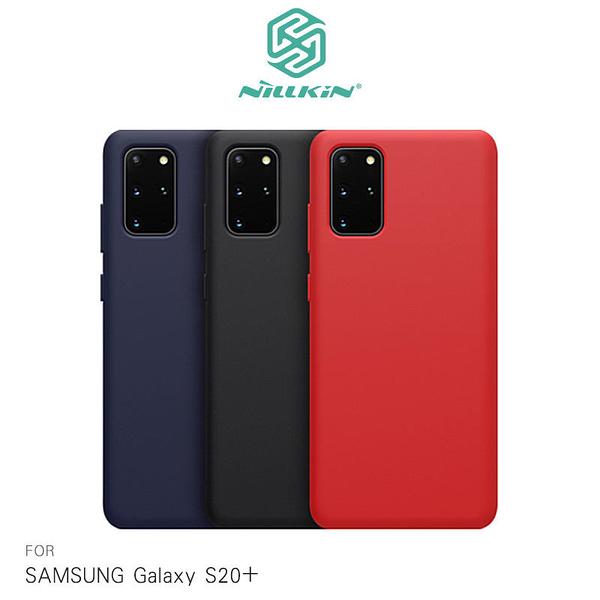 【愛瘋潮】SAMSUNG Galaxy S20+ 感系列液態矽膠殼 背殼 鏡頭增高