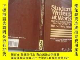 二手書博民逛書店student罕見writers at work and in