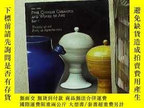 二手書博民逛書店FINE罕見CHINESE CERAMICS AND WORKS OF ART PART I 18--19 SEP